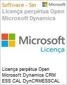 Licen�a perp�tua Open Microsoft Dynamics CRM ESS CAL DynCRMESSCAL SNGL [LicSAPk] Licen�a + Software Assurance OLP NL DvcCAL CAL Device Qualified [QLFD] (Figura somente ilustrativa, n�o representa o produto real)