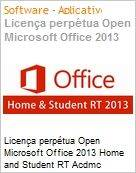 Licen�a perp�tua Open Microsoft Office 2013 Home and Student RT Acdmc [Educacional] OffHomeandStdntRT SNGL OLP NL (Somente para Tablets Windows 8 RT) (Figura somente ilustrativa, n�o representa o produto real)
