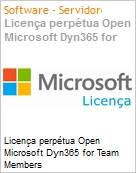 Licença perpétua Open Microsoft Dyn365 for Team Members Dyn365ForTeamMembers SNGL LicSAPk OLP NL [QLFD] Offer User CAL fromCRMEssntls  (Figura somente ilustrativa, não representa o produto real)