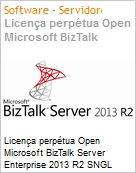 Licen�a perp�tua Open Microsoft BizTalk Server Enterprise 2013 R2 SNGL OPEN 2 Licenses No Level Core License Qualified [QLFD]  (Figura somente ilustrativa, n�o representa o produto real)