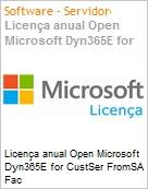 Licença anual Open Microsoft Dyn365E for CustSer FromSA Fac Dyn365EforCustSerFromSAFac ShrdSvr SNGL OLP NL Annual Offer fromCRMBsc  (Figura somente ilustrativa, não representa o produto real)