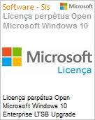 Licen�a perp�tua Open Microsoft Windows 10 Enterprise LTSB Upgrade WinEntLTSBUpgrd 2016 SNGL Upgrade OLP NL  (Figura somente ilustrativa, n�o representa o produto real)