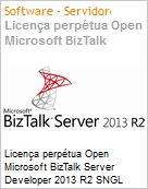 Licen�a perp�tua Open Microsoft BizTalk Server Developer 2013 R2 SNGL Academic OPEN 1 License No Level  (Figura somente ilustrativa, n�o representa o produto real)
