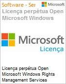 Licença perpétua Open Microsoft Windows Rights Management Services External Connection WinRghtsMgmtSrvcsExtConn 2016 SNGL OLP NL [QLFD]  (Figura somente ilustrativa, não representa o produto real)