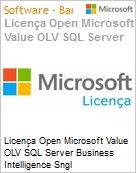 Licença Open Microsoft Value OLV SQL Server Business Intelligence Sngl License/Software Assurance Pack [LicSAPk] 1 License No Level Additional Product 1 Year Acquired year (Figura somente ilustrativa, não representa o produto real)