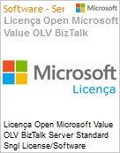 Licença Open Microsoft Value OLV BizTalk Server Standard Sngl License/Software Assurance Pack [LicSAPk] 2 Licenses No Level Additional Product Core License 1 Year Acquire (Figura somente ilustrativa, não representa o produto real)
