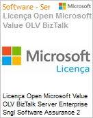 Licença Open Microsoft Value OLV BizTalk Server Enterprise Sngl Software Assurance 2 Licenses No Level Additional Product Core License 1 Year Acquired year 1 (Figura somente ilustrativa, não representa o produto real)