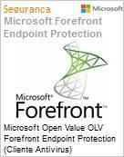 Licença Open Microsoft Value OLV Forefront Endpoint Protection (Cliente Antivirus) FrfrntEndpointPrtcn SNGL Subsvl (Valor mensal) 1 Map per Device (Figura somente ilustrativa, não representa o produto real)