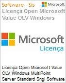 Licença Open Microsoft Value OLV Windows MultiPoint Server Standard Sngl Software Assurance 1 License No Level Additional Product 2 Year Acquired year 2 (Figura somente ilustrativa, não representa o produto real)