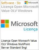 Licença Open Microsoft Value OLV Windows MultiPoint Server Standard Sngl License/Software Assurance Pack [LicSAPk] 1 License No Level Additional Product 3 Year Acquired ye (Figura somente ilustrativa, não representa o produto real)