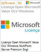 Licença Open Microsoft Value OLV Windows MultiPoint Server Premium Sngl License/Software Assurance Pack [LicSAPk] 1 License No Level Additional Product 2 Year Acquired yea (Figura somente ilustrativa, não representa o produto real)
