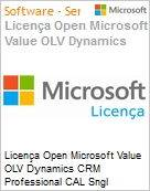 Licença Open Microsoft Value OLV Dynamics CRM Professional CAL Sngl Software Assurance 1 License No Level Additional Product Device CAL Device CAL 1 Year Acquire (Figura somente ilustrativa, não representa o produto real)