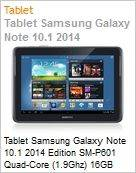 Tablet Galaxy Note 10.1 2014 SM-P6010 Quad-Core (1.90Ghz) 16GB 10.1 Android 4.3 (Jelly Bean) Wi-Fi N Bluetooth 3G GPS C�mera 5MP Preto Desbloqueado (Figura somente ilustrativa, n�o representa o produto real)
