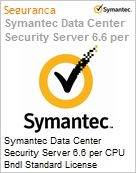 Symantec Data Center Security Server 6.6 per CPU Bndl Standard License Express Band E [250-499] Essential 12 Meses  (Figura somente ilustrativa, não representa o produto real)