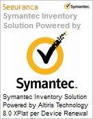 Symantec Inventory Solution Powered by Altiris Technology 8.0 XPlat per Device Renewal [Renovação] Essential 12 Meses Express Band S [001+]  (Figura somente ilustrativa, não representa o produto real)