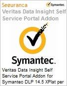 Veritas Data Insight Self Service Portal Addon for Symantec DLP 14.5 XPlat per Managed User Sub [Assinatura] License Express Band S [001+] Essential 24 Meses (Figura somente ilustrativa, não representa o produto real)