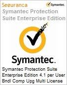 Symantec Protection Suite Enterprise Edition 4.1 per User Bndl Comp Upg Multi License Express Band E [250-499] Essential 12 Meses  (Figura somente ilustrativa, não representa o produto real)
