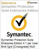 Symantec Protection Suite Enterprise Edition 4.1 per User Bndl Xgrd [Crossgrade] Multi License from Gen Express Band E [250-499] Essential 12 Meses (Figura somente ilustrativa, não representa o produto real)