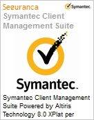 Symantec Client Management Suite Powered by Altiris Technology 8.0 XPlat per Device Sub [Assinatura] License Express Band S [001+] Essential 24 Meses (Figura somente ilustrativa, não representa o produto real)