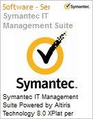 Symantec IT Management Suite Powered by Altiris Technology 8.0 XPlat per Device Sub [Assinatura] License Express Band S [001+] Essential 36 Meses (Figura somente ilustrativa, não representa o produto real)