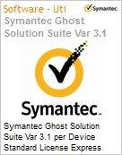 Symantec Ghost Solution Suite Var 3.1 per Device Standard License Express Band A [001-024]  (Figura somente ilustrativa, n�o representa o produto real)