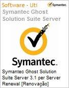 Symantec Ghost Solution Suite Server 3.1 per Server Renewal [Renova��o] Essential 12 Meses Express Band E [250-499]  (Figura somente ilustrativa, n�o representa o produto real)