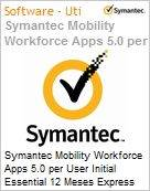 Symantec Mobility Workforce Apps 5.0 per User Initial Essential 12 Meses Express Band S [001+]  (Figura somente ilustrativa, n�o representa o produto real)