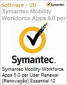 Symantec Mobility Workforce Apps 5.0 per User Renewal [Renova��o] Essential 12 Meses Express Band S [001+]  (Figura somente ilustrativa, n�o representa o produto real)