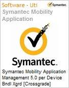Symantec Mobility Application Management 5.0 per Device Bndl Xgrd [Crossgrade] License from Mobility Workforce Apps Express Band S [001+] Essential 12 Meses (Figura somente ilustrativa, não representa o produto real)
