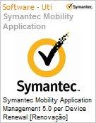 Symantec Mobility Application Management 5.0 per Device Renewal [Renova��o] Essential 12 Meses Express Band S [001+]  (Figura somente ilustrativa, n�o representa o produto real)
