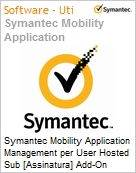 Symantec Mobility Application Management per User Hosted Sub [Assinatura] Add-On Express Band S [001+] Essential 12 Meses  (Figura somente ilustrativa, não representa o produto real)