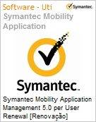 Symantec Mobility Application Management 5.0 per User Renewal [Renova��o] Essential 12 Meses Express Band S [001+]  (Figura somente ilustrativa, n�o representa o produto real)