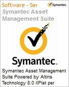 Symantec Asset Management Suite Powered by Altiris Technology 8.0 XPlat per Concurrent User Bndl Standard License Express Band S [001+] Essential 12 Meses (Figura somente ilustrativa, n�o representa o produto real)