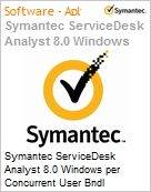 Symantec ServiceDesk Analyst 8.0 Windows per Concurrent User Bndl Standard License Express Band S [001+] Essential 12 Meses  (Figura somente ilustrativa, não representa o produto real)