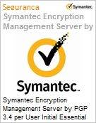 Symantec Encryption Management Server by PGP 3.4 per User Initial Essential 12 Meses Express Band E [250-499]  (Figura somente ilustrativa, n�o representa o produto real)