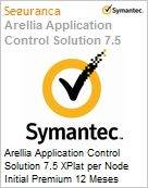 Arellia Application Control Solution 7.5 XPlat per Node Initial Premium 12 Meses Express Band S [001+]  (Figura somente ilustrativa, n�o representa o produto real)