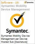 Symantec Mobility Device Management per Device Hosted Sub [Assinatura] Add-On Express Band S [001+] Essential 12 Meses  (Figura somente ilustrativa, n�o representa o produto real)