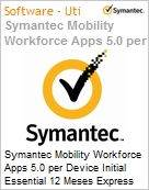 Symantec Mobility Workforce Apps 5.0 per Device Initial Essential 12 Meses Express Band S [001+]  (Figura somente ilustrativa, n�o representa o produto real)