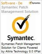 Symantec Patch Management Solution for Clients Powered by Altiris Technology 8.0 XPlat per Device Bndl Standard License Express Band S [001+] Essential 12 Meses (Figura somente ilustrativa, não representa o produto real)