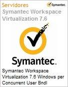 Symantec Workspace Virtualization 7.6 Windows per Concurrent User Bndl Standard License Express Band S [001+] Essential 12 Meses  (Figura somente ilustrativa, não representa o produto real)