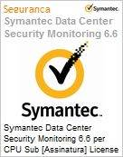 Symantec Data Center Security Monitoring 6.6 per CPU Sub [Assinatura] License Express Band C [050-099] Essential 12 Meses  (Figura somente ilustrativa, não representa o produto real)