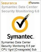 Symantec Data Center Security Monitoring 6.6 per CPU Xgrd [Crossgrade] Sub [Assinatura] License from Data Center Sec Srvr Express Band E [250-499] Essential 12 Meses (Figura somente ilustrativa, não representa o produto real)