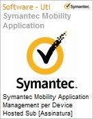 Symantec Mobility Application Management per Device Hosted Sub [Assinatura] Add-On Express Band S [001+] Essential 12 Meses  (Figura somente ilustrativa, não representa o produto real)