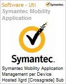 Symantec Mobility Application Management per Device Hosted Xgrd [Crossgrade] Sub [Assinatura] from Mobility Workforce Apps Express Band S [001+] Essential 12 Meses (Figura somente ilustrativa, n�o representa o produto real)