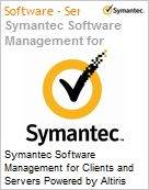 Symantec Software Management for Clients and Servers Powered by Altiris Technology 8.0 XPlat per Device Sub [Assinatura] License Express Band S [001+] Essential 24 Meses (Figura somente ilustrativa, n�o representa o produto real)