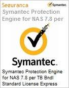 Symantec Protection Engine for NAS 7.8 per TB Bndl Standard License Express Band S [001+] Essential 12 Meses  (Figura somente ilustrativa, n�o representa o produto real)