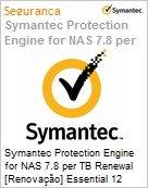 Symantec Protection Engine for NAS 7.8 per TB Renewal [Renova��o] Essential 12 Meses Express Band S [001+]  (Figura somente ilustrativa, n�o representa o produto real)