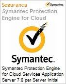 Symantec Protection Engine for Cloud Services Application Server 7.8 per Server Initial Essential 12 Meses Express Band S [001+]  (Figura somente ilustrativa, não representa o produto real)