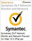 Symantec DLP Network Monitor and Network Prevent for Web 14.5 XPlat per Managed User Initial Essential 12 Meses Express Band S [001+]  (Figura somente ilustrativa, não representa o produto real)