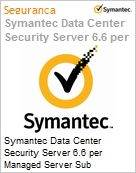 Symantec Data Center Security Server 6.6 per Managed Server Sub [Assinatura] License Express Band A [001-024] Essential 12 Meses  (Figura somente ilustrativa, não representa o produto real)